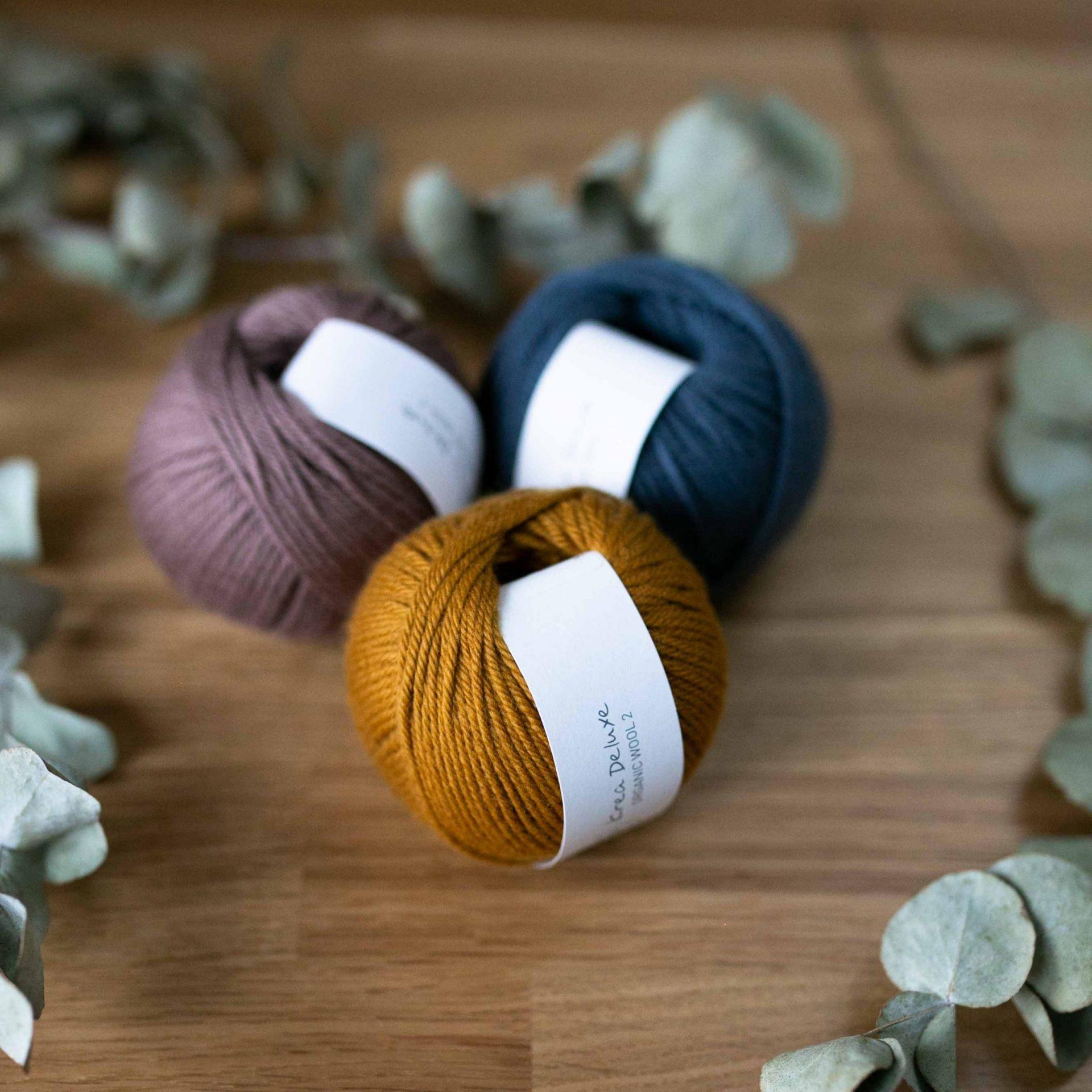 Wool Nr. 2 - Krea Deluxe in der Farbe W 16