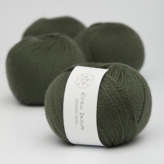 Organic Wool 1 (Neu) - Krea Deluxe in der Farbe W 36 (alt)