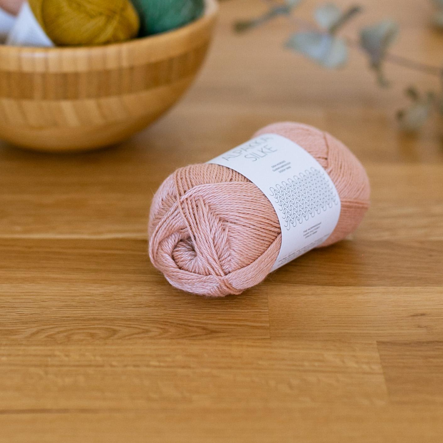 Alpakka Silke - Sandnes Garn in der Farbe col.3522 nude