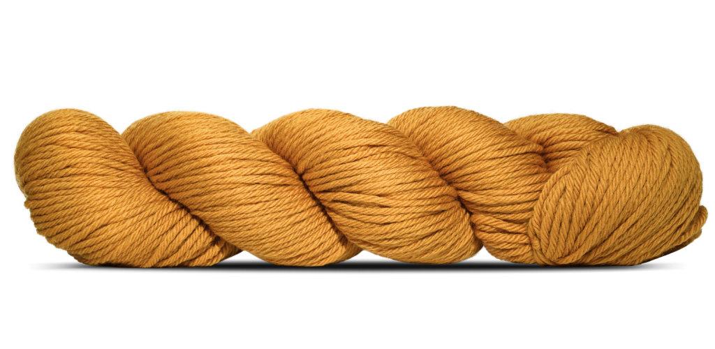 Big Merino Hug - Rosy Green Wool in der Farbe Karamell (136)