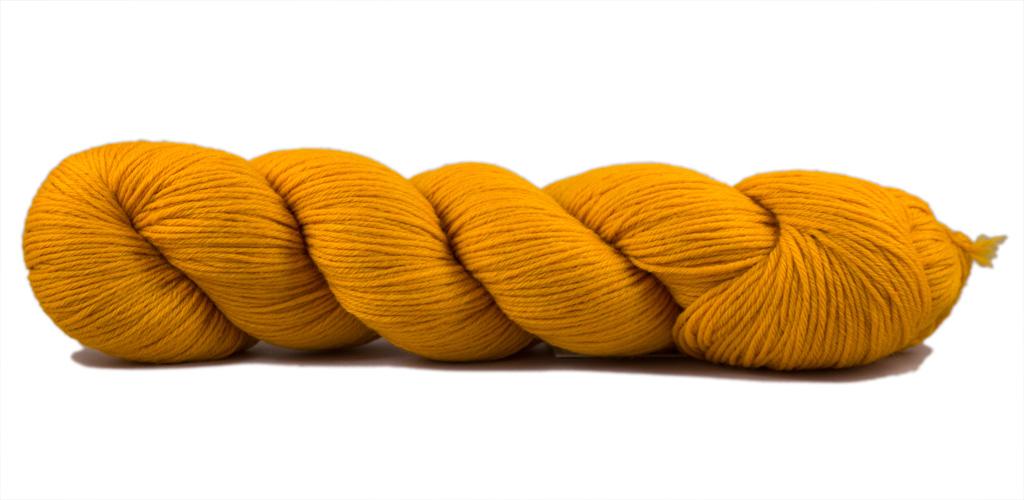 Cheeky Merino Joy - Rosy Green Wool in der Farbe Sonnenblume (102)