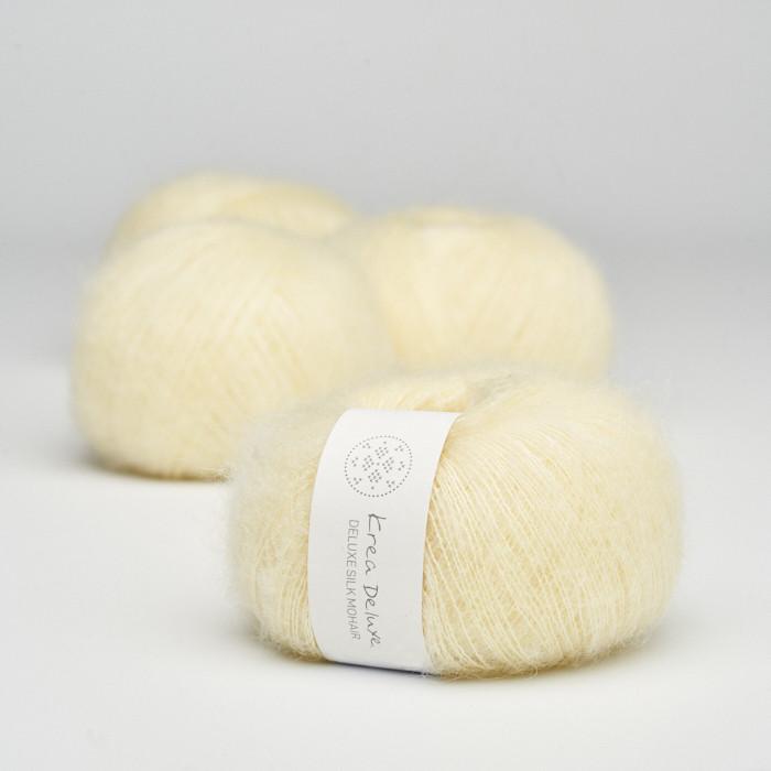 Deluxe Silk Mohair - Krea Deluxe in der Farbe 03 Zart Gelb