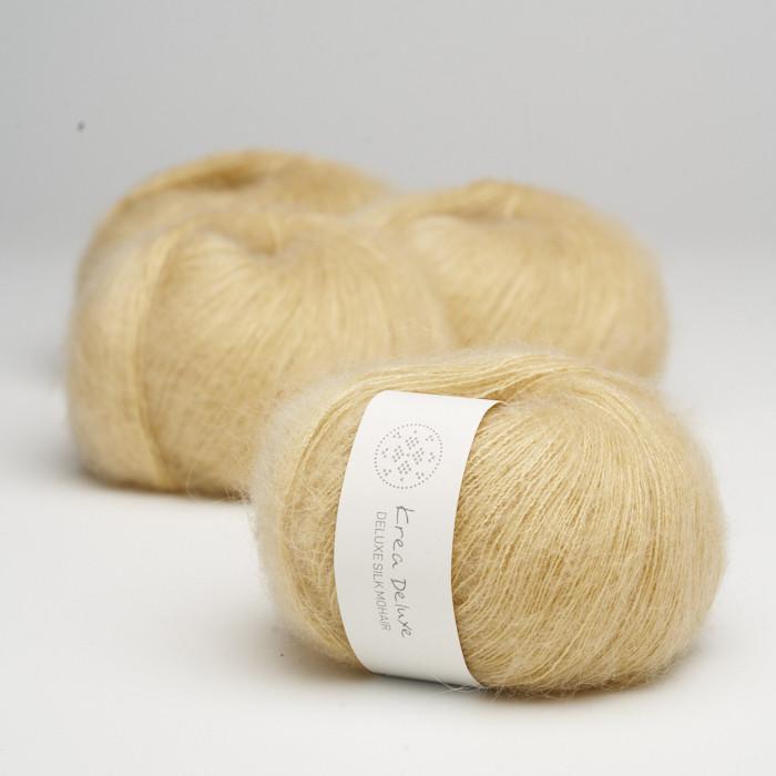 Deluxe Silk Mohair - Krea Deluxe in der Farbe 05 Gelb