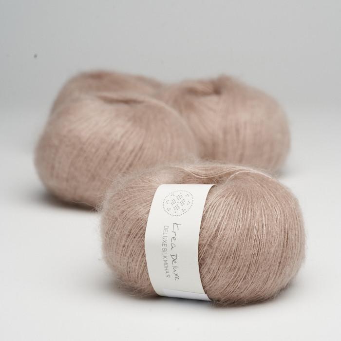 Deluxe Silk Mohair - Krea Deluxe in der Farbe 14 Helles Altrosa