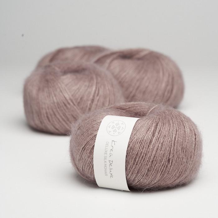 Deluxe Silk Mohair - Krea Deluxe in der Farbe 15 Altrosa