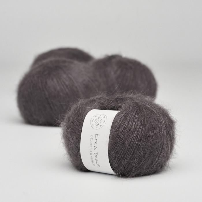 Deluxe Silk Mohair - Krea Deluxe in der Farbe 43 Aubergine