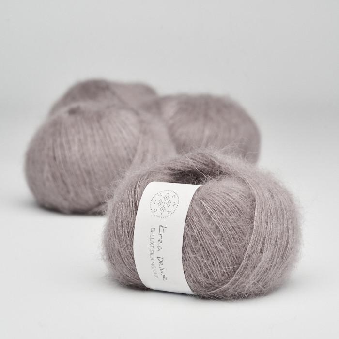 Deluxe Silk Mohair - Krea Deluxe in der Farbe 44 Schmutziges Lavendel