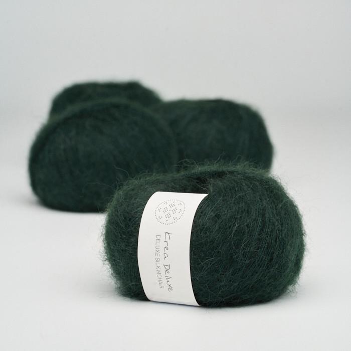 Deluxe Silk Mohair - Krea Deluxe in der Farbe 45 Flaschengrün