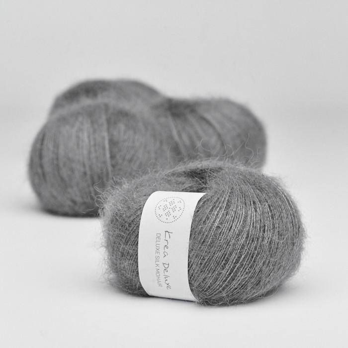 Deluxe Silk Mohair - Krea Deluxe in der Farbe 50 Dunkelgrau