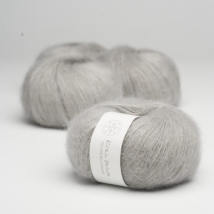 Deluxe Silk Mohair - Krea Deluxe in der Farbe 51 Hellgrau