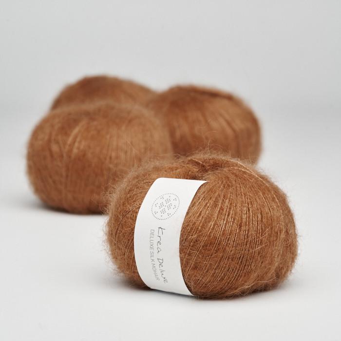 Deluxe Silk Mohair - Krea Deluxe in der Farbe 52 Karamell