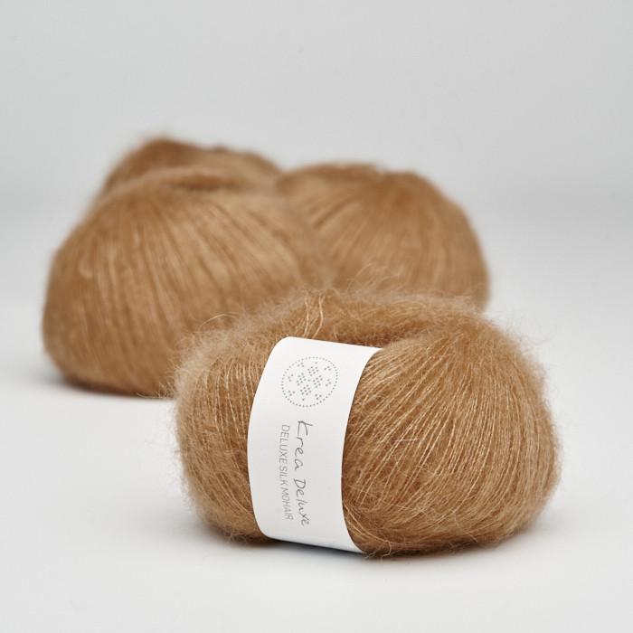 Deluxe Silk Mohair - Krea Deluxe in der Farbe 53 Croissant