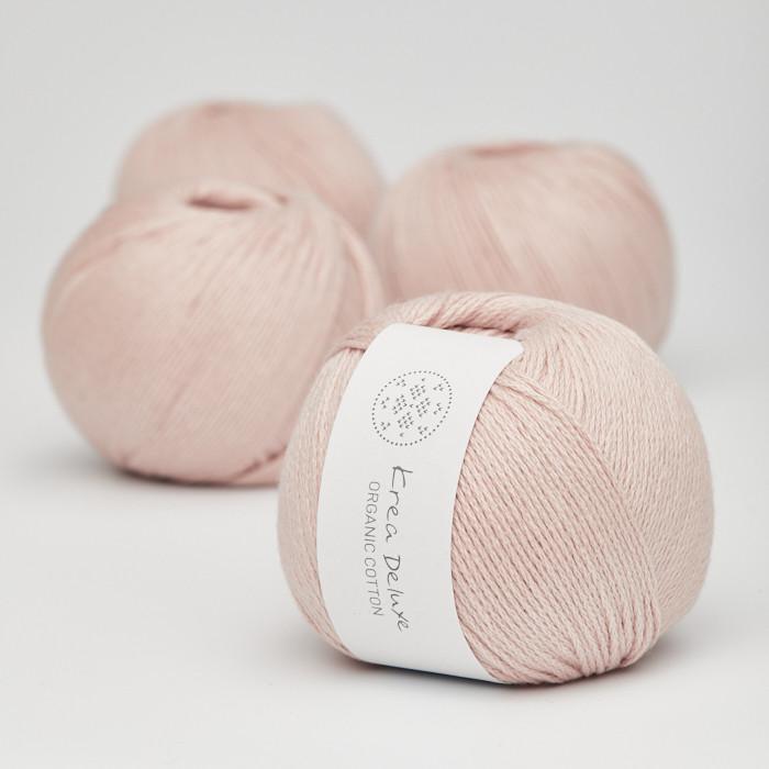 Organic Cotton - Krea Deluxe in der Farbe 07 Puder