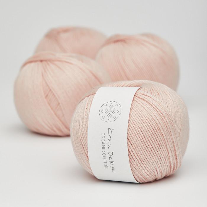 Organic Cotton - Krea Deluxe in der Farbe 08 Hellrosa