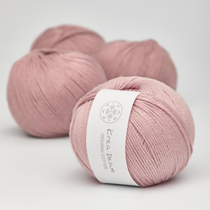 Organic Cotton - Krea Deluxe in der Farbe 12 Rosa