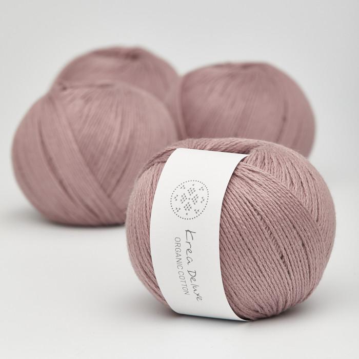 Organic Cotton - Krea Deluxe in der Farbe 15 Altrosa