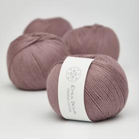 Organic Cotton - Krea Deluxe in der Farbe 16 Dunkles Altrosa