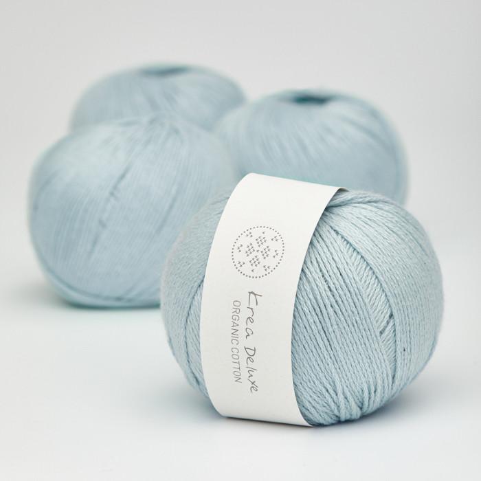 Organic Cotton - Krea Deluxe in der Farbe 22 Hellblau