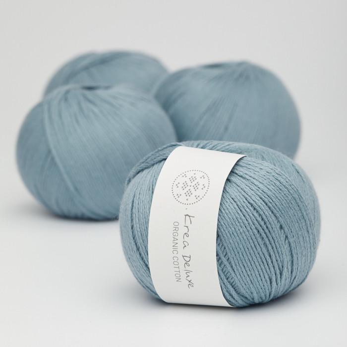 Organic Cotton - Krea Deluxe in der Farbe 23 Blau
