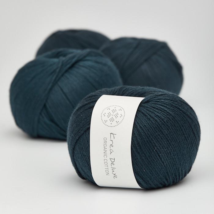 Organic Cotton - Krea Deluxe in der Farbe 27 Marineblau