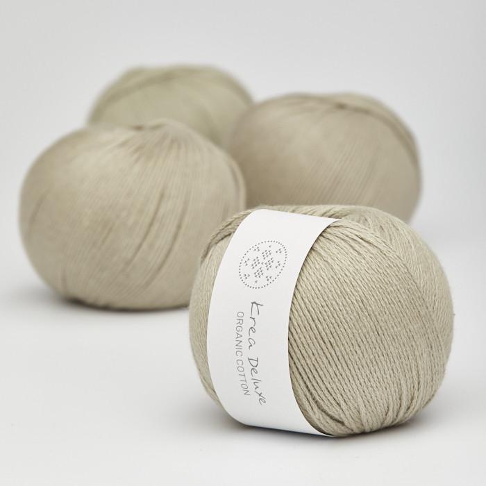 Organic Cotton - Krea Deluxe in der Farbe 39 Khaki Grün