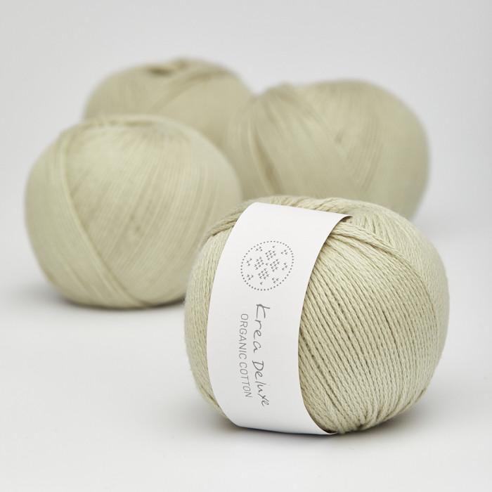 Organic Cotton - Krea Deluxe in der Farbe 40 Hellgrün