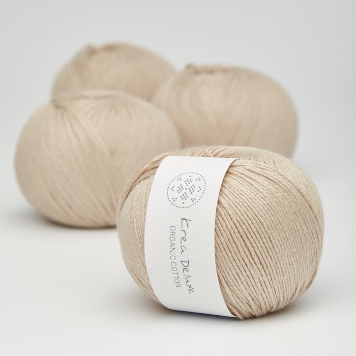 Organic Cotton - Krea Deluxe in der Farbe 46 Leinenfarben