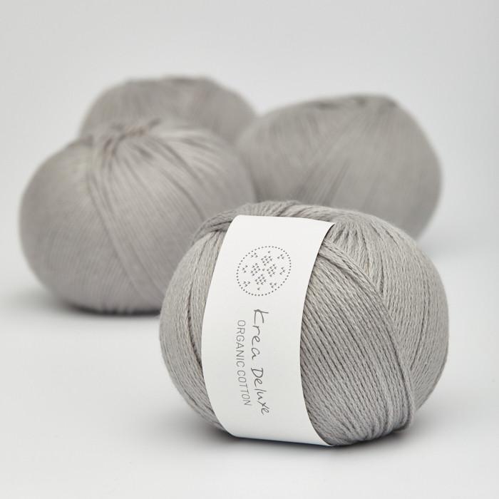 Organic Cotton - Krea Deluxe in der Farbe 48 Hellgrau