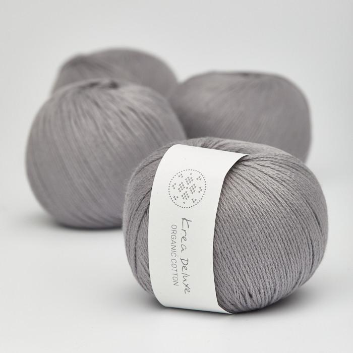 Organic Cotton - Krea Deluxe in der Farbe 49 Grau