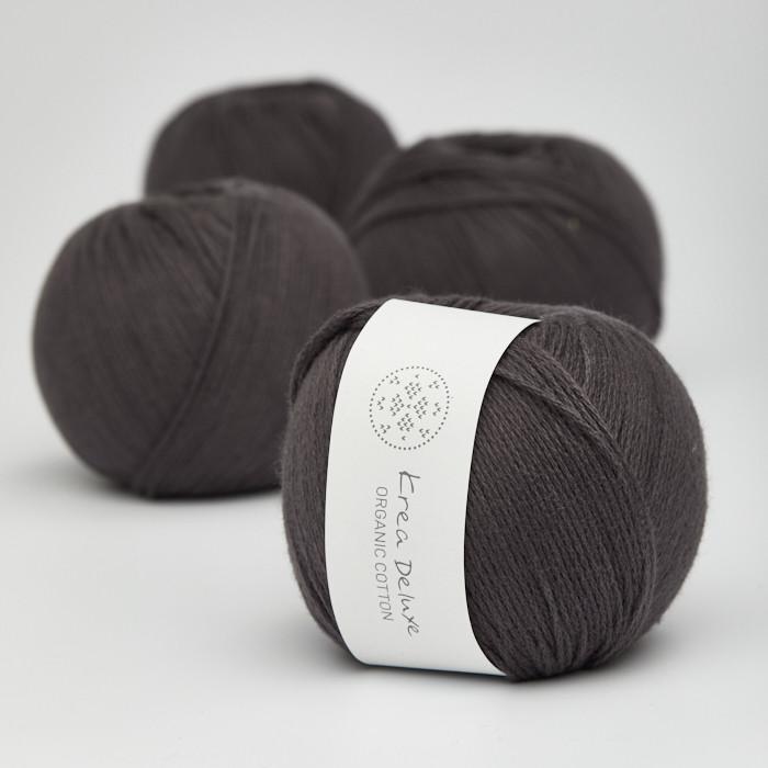 Organic Cotton - Krea Deluxe in der Farbe 51 Anthrazit