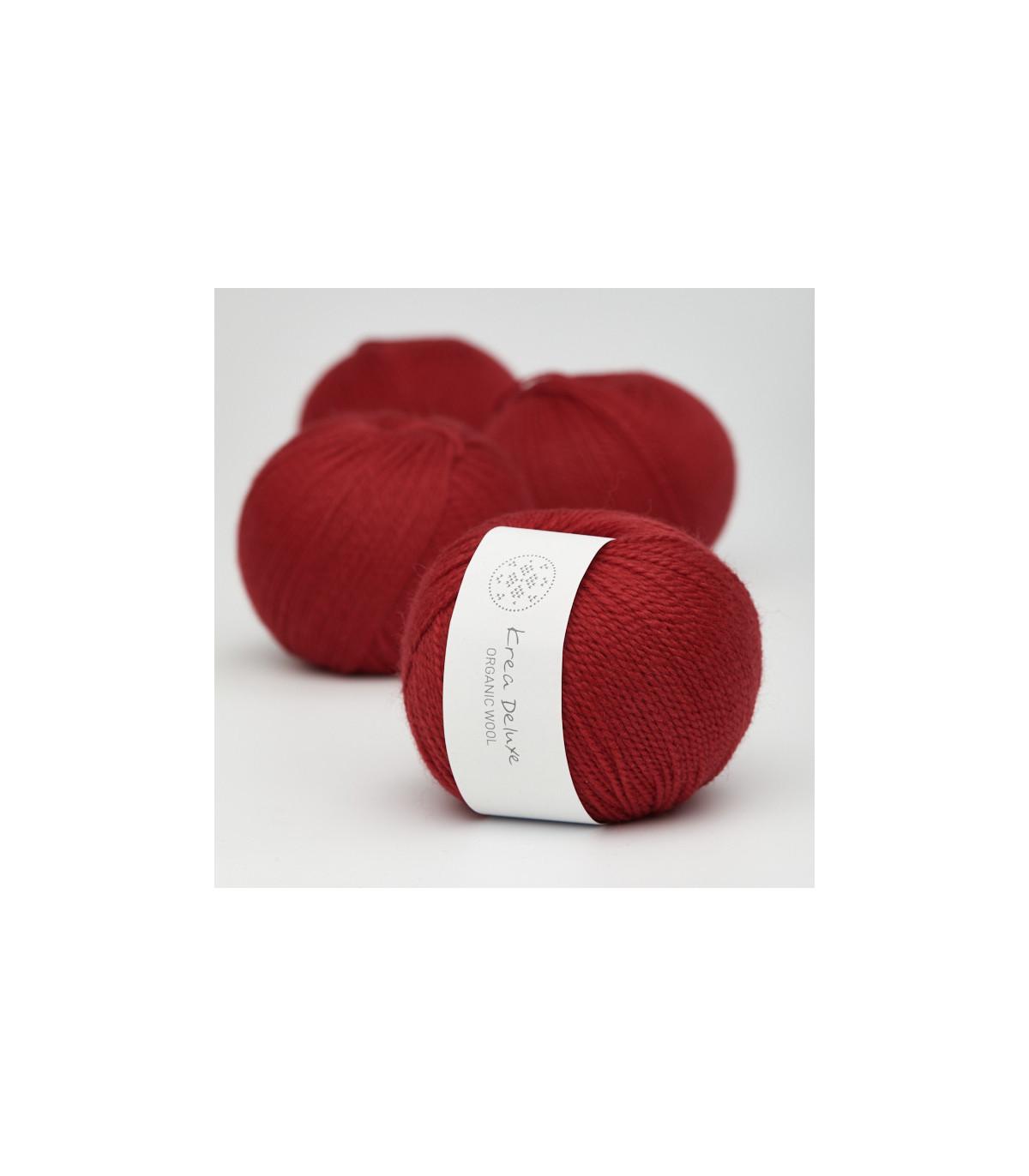 Wool 1 (Neu) - Krea Deluxe in der Farbe W 35 Rot