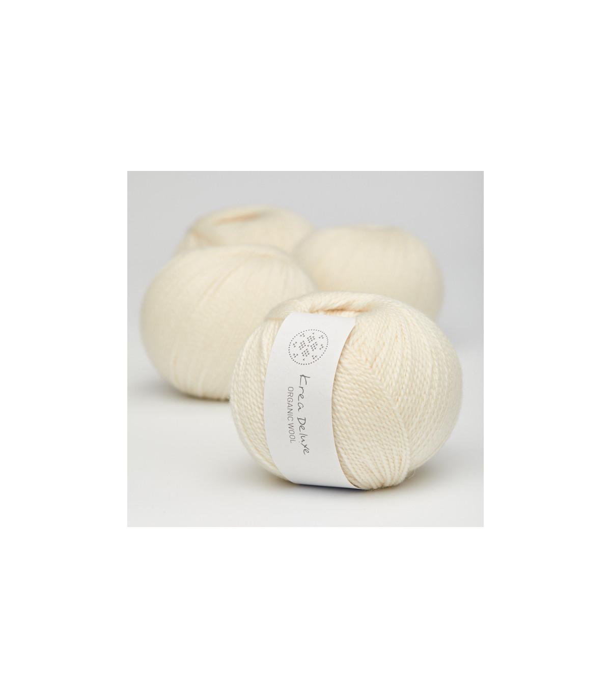 Wool 1 (Neu) - Krea Deluxe in der Farbe W 02 Cream