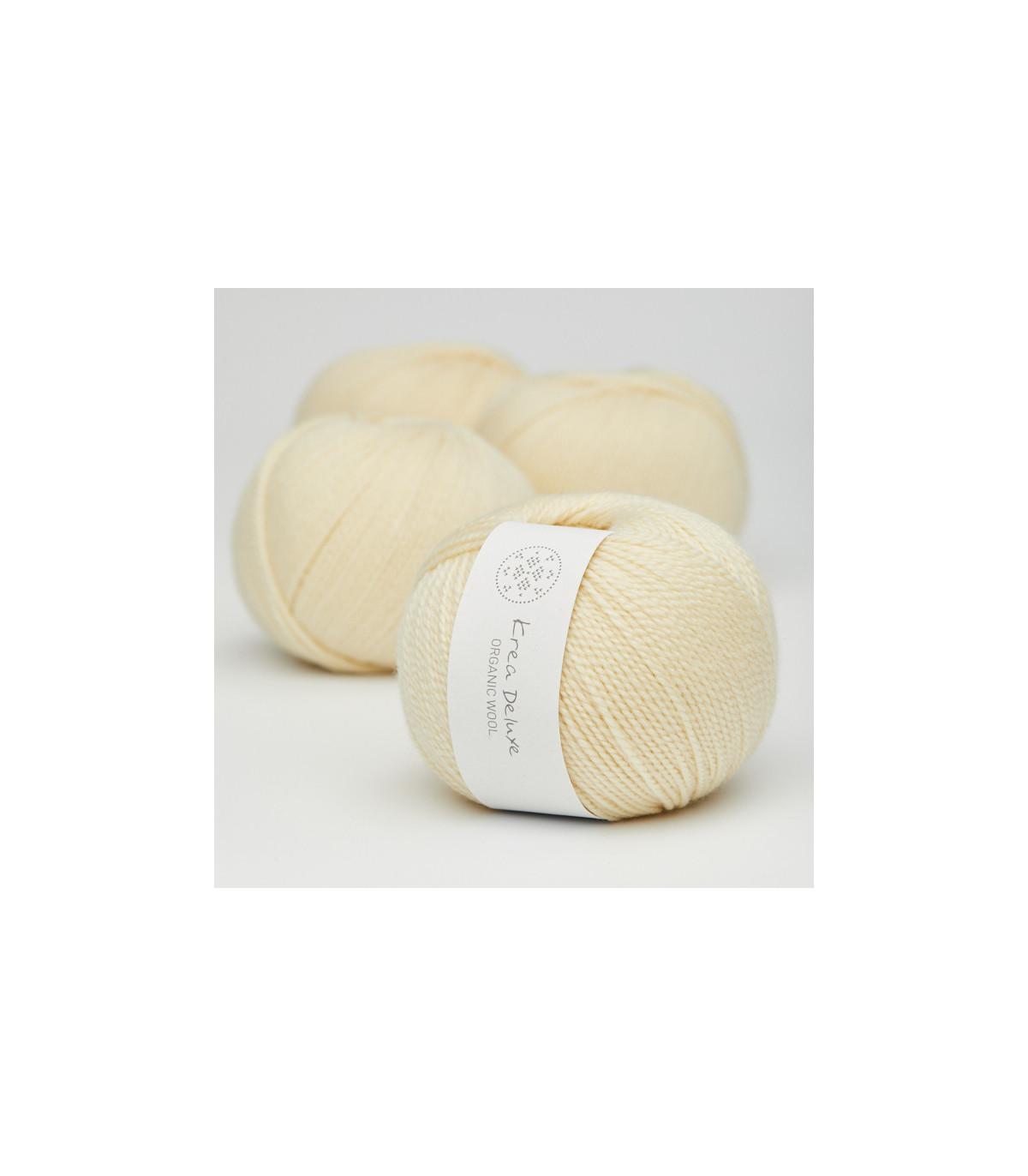 Wool 1 (Neu) - Krea Deluxe in der Farbe W 03 Zart Hellgelb