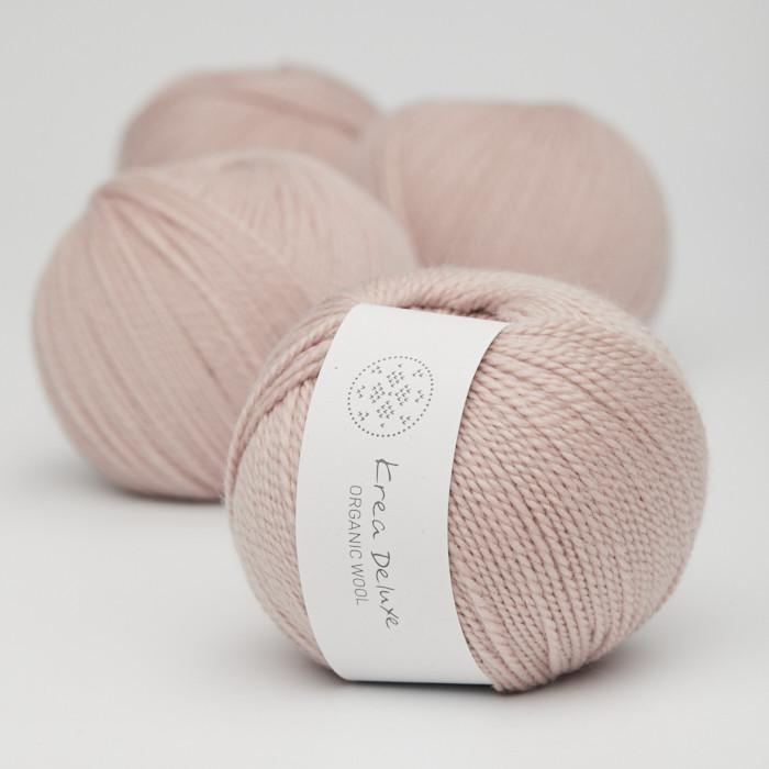 Organic Wool 1 (Neu) - Krea Deluxe in der Farbe W 07 Puder