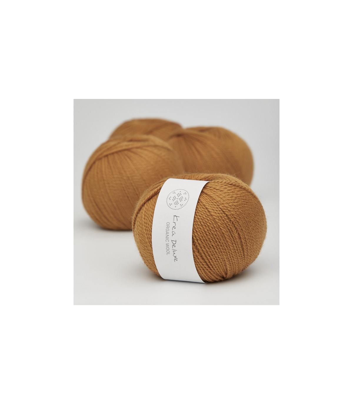 Wool 1 (Neu) - Krea Deluxe in der Farbe W 09 Curry Gelb