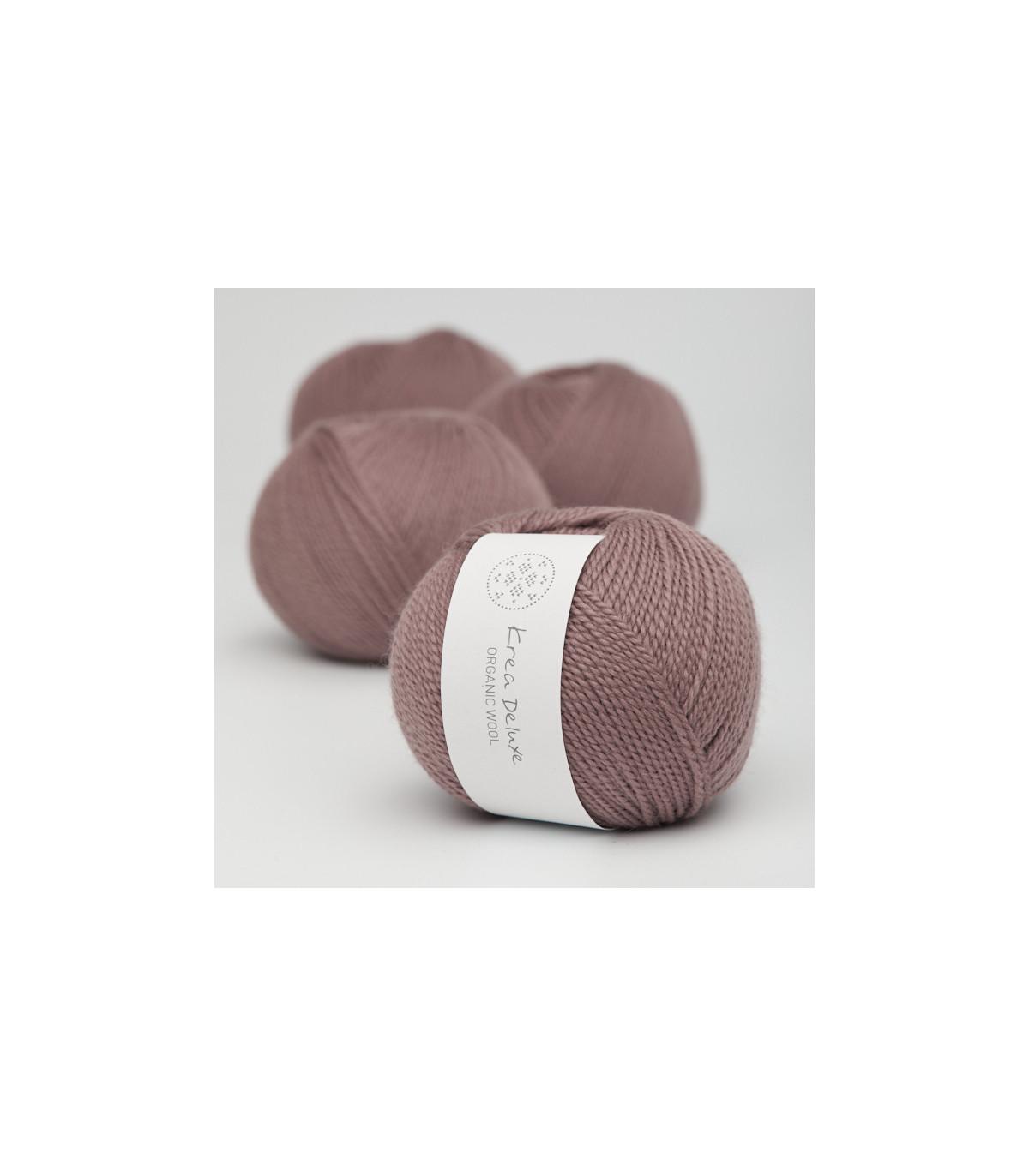 Wool 1 (Neu) - Krea Deluxe in der Farbe W 16 Dunkles Altrosa