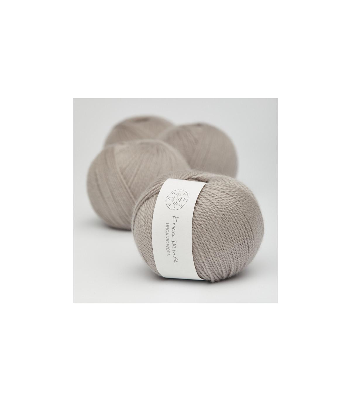 Wool 1 (Neu) - Krea Deluxe in der Farbe W 19 Warmes Grau