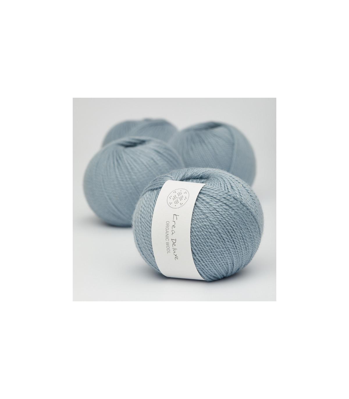 Wool 1 (Neu) - Krea Deluxe in der Farbe W 25 Schmutziges Hellblau
