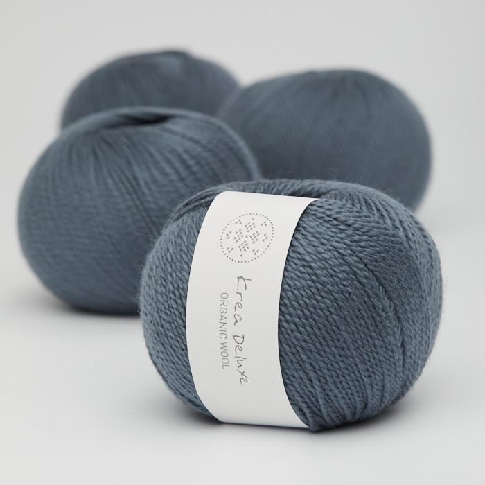 Organic Wool 1 (Neu) - Krea Deluxe in der Farbe W 26 Dunkelblau