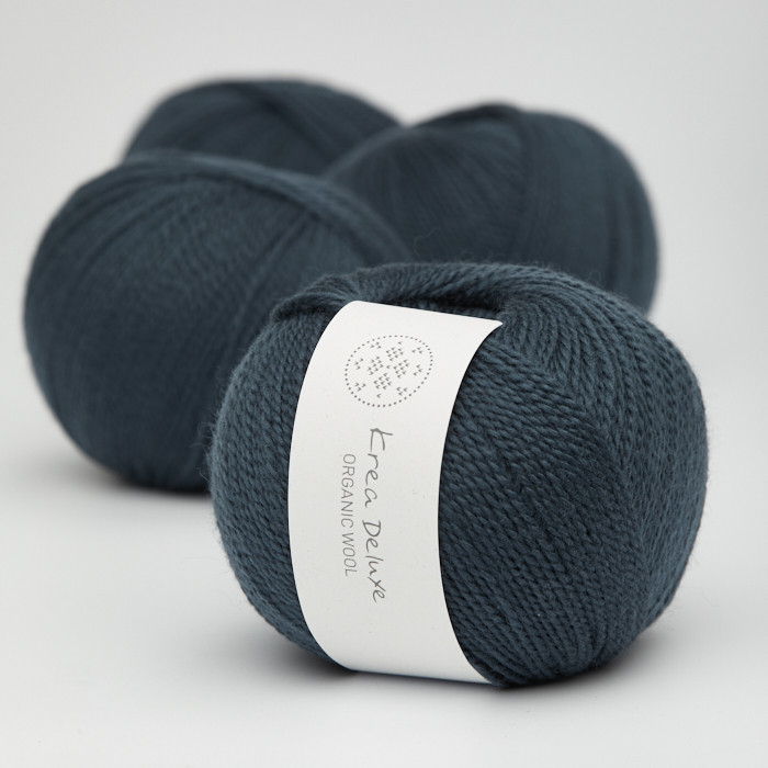 Organic Wool 1 (Neu) - Krea Deluxe in der Farbe W 27 Marineblau