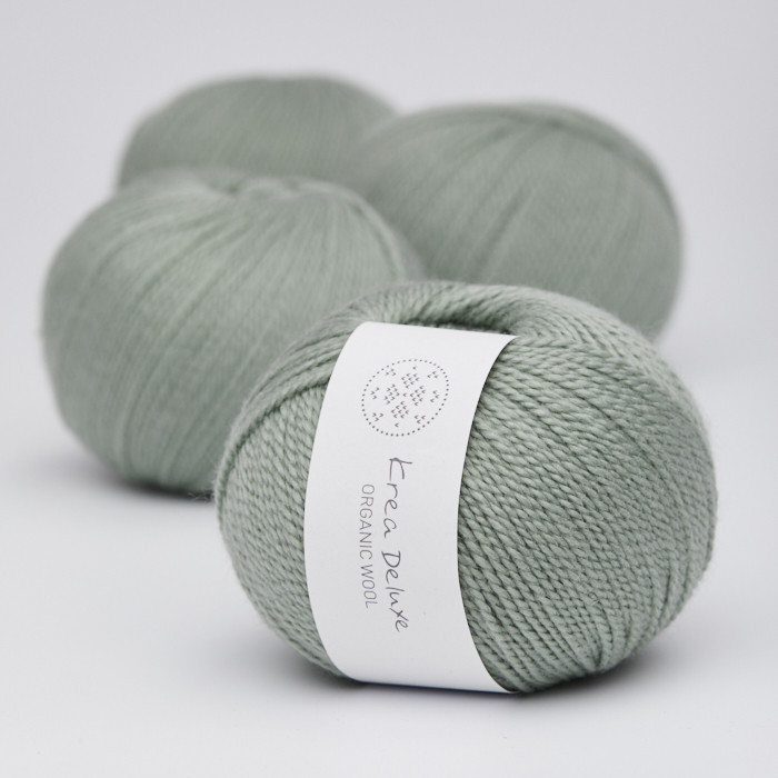 Organic Wool 1 (Neu) - Krea Deluxe in der Farbe W 32 Hellgrün