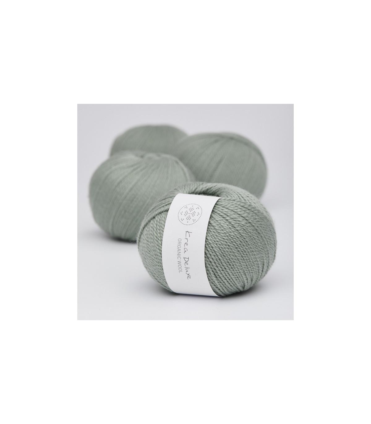 Wool 1 (Neu) - Krea Deluxe in der Farbe W 32 Hellgrün