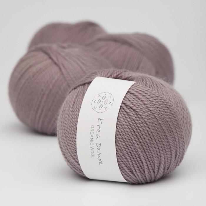 Organic Wool 1 (Neu) - Krea Deluxe in der Farbe W 44 Schmutziges Lavendel