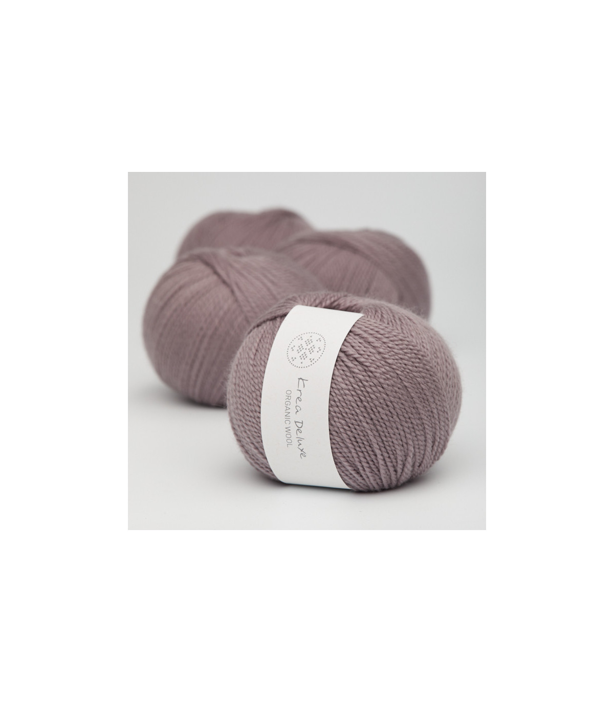 Wool 1 (Neu) - Krea Deluxe in der Farbe W 44 Schmutziges Lavendel