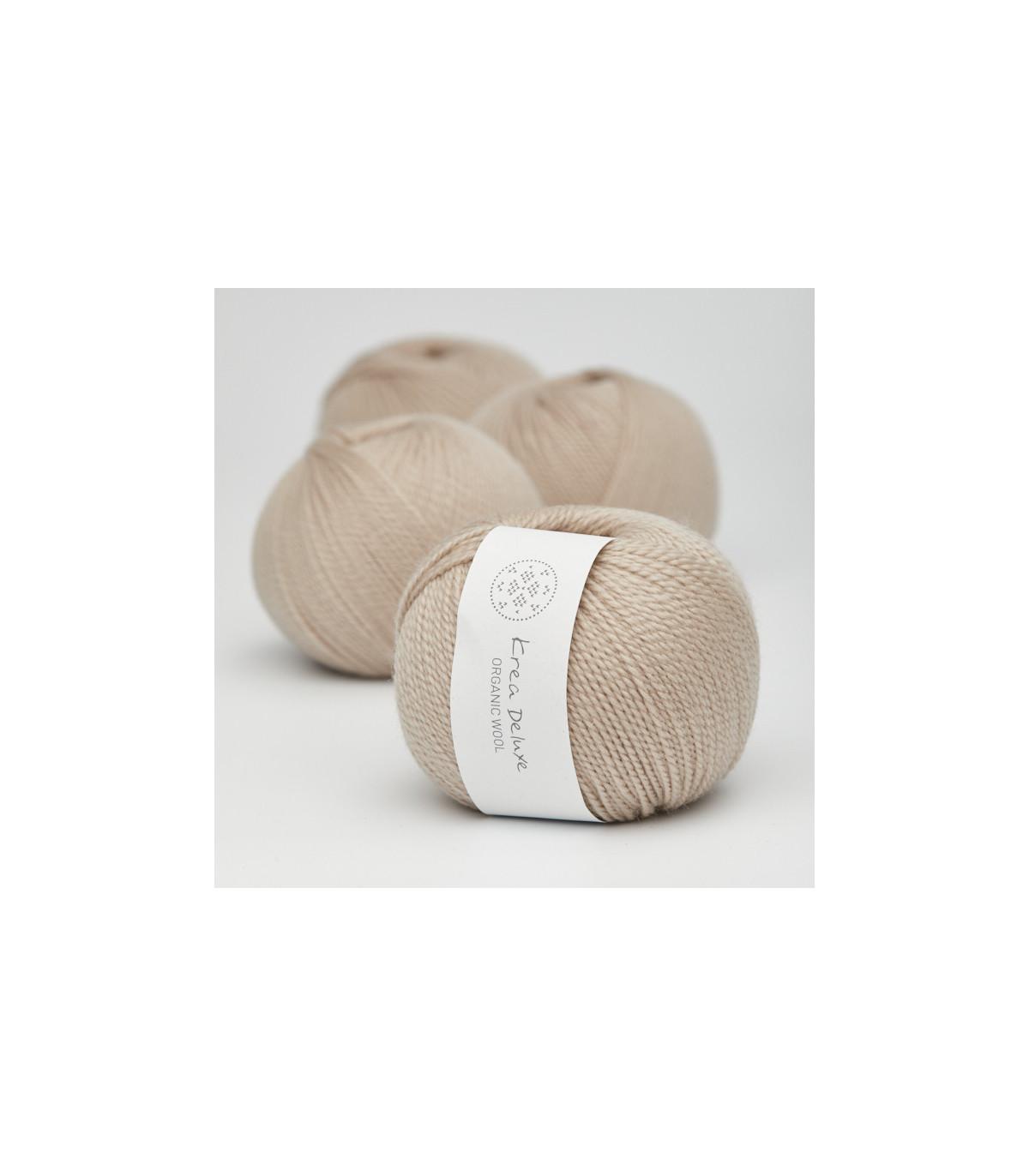 Wool 1 (Neu) - Krea Deluxe in der Farbe W 46 Sand