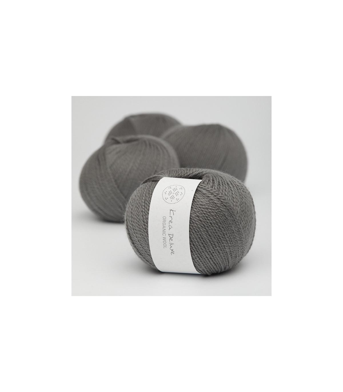 Wool 1 (Neu) - Krea Deluxe in der Farbe W 50 Dunkelgrau