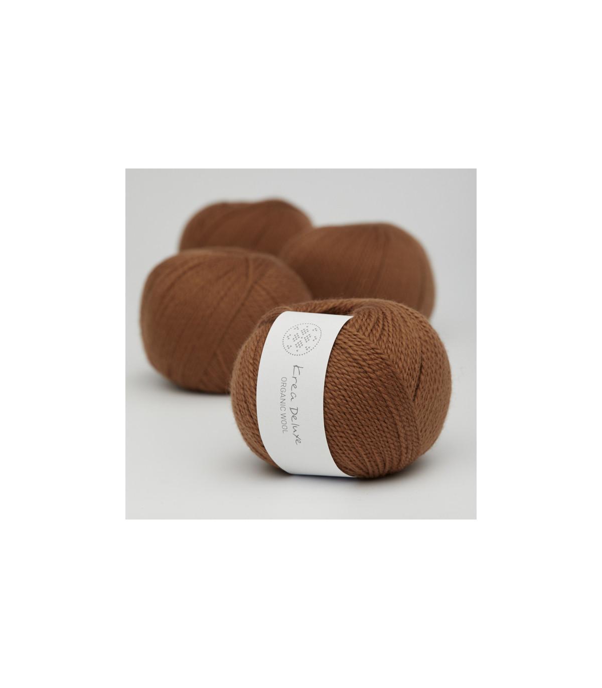 Wool 1 (Neu) - Krea Deluxe in der Farbe W 52 Karamell